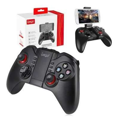 iPega pg-9068 Tomahawk Wireless BT Gamepad for Win XP Win7 8 TV Box Game Controller i-Phone i-Pad iOS System Samsung Galaxy Note HTC LG Android Tablet Pc Mac Osx image 2