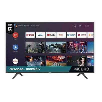 Hisense 55A72KEN - 55'' UHD 4K Frameless Android Smart TV - Black image 1