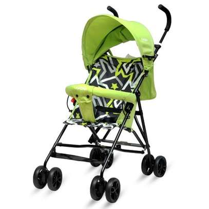 Green lightweight Foldable Baby Stroller/ pram/push chair/buggy image 1
