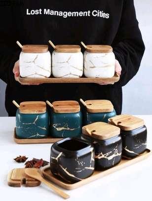 Ceramic spice rack image 1