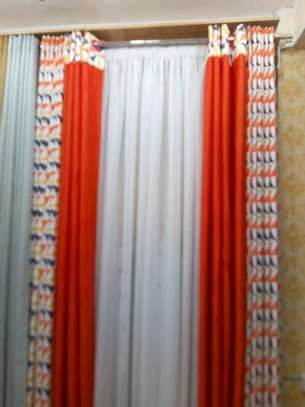 Curtains and Matching sheers image 1