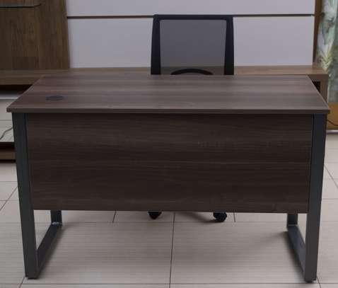 Peter Steel Frame Office Desk & Chair Combo image 3