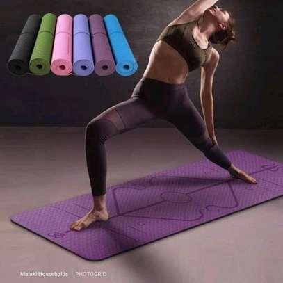 High density Yoga exercise mats image 3