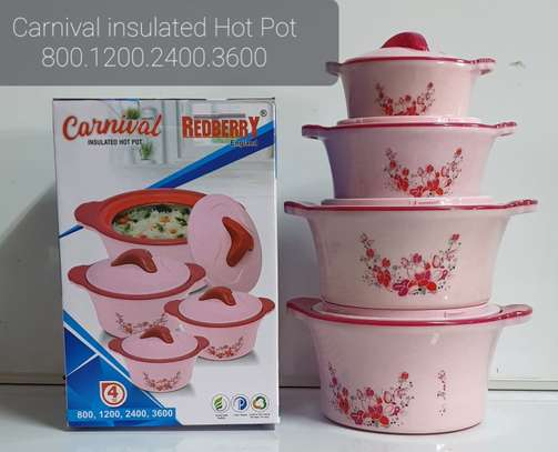 Insulated Hot pots image 1