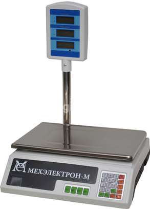 ACS 30 electronic digital price computing and weighing scale image 1