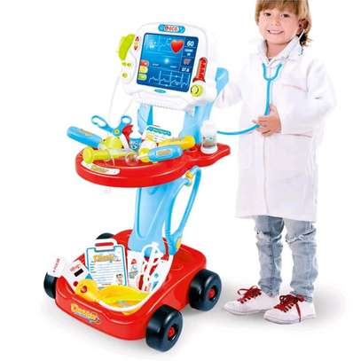 Kids doctor toy set image 1
