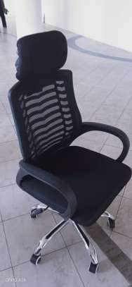 Office chair ( with headrest) image 1