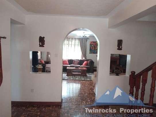 Furnished 3 bedroom house for rent in Karen image 5