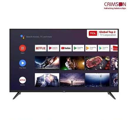 New 40 inch TCL Android Smart Digital Frameless TVs image 1