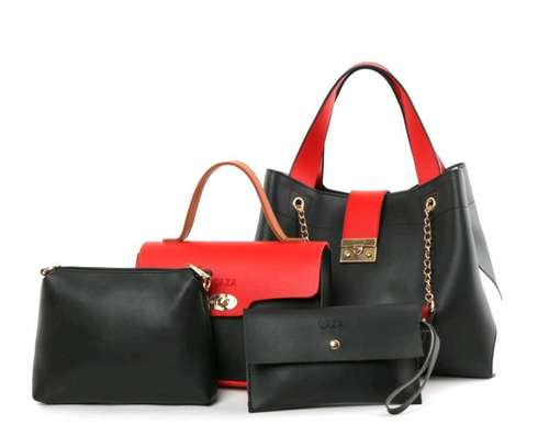 Pure Leather 4 in 1 Handbags