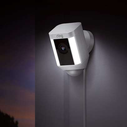RING SPOTLIGHT WIRED CAM - WIFI SMART HOME SECURITY CAMERA image 2