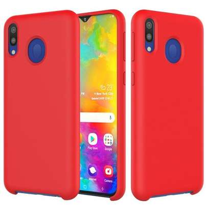 Silicone case with Soft Touch for Samsung M30 M20 M10 image 2