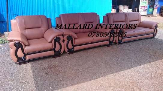 Brown 6 Seater