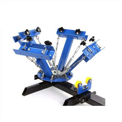 High Quality 4 Color 1 Station Screen Printing Kit . image 1