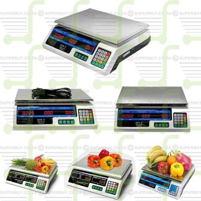 40Kg Digital Weight Meat Scale. image 1