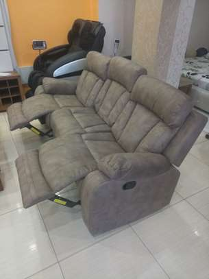 6 seater microfiber Recliner Sofa