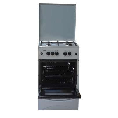 Mika Standing Cooker, 50cm X 50cm, All Gas, Gas oven, Kircili Grey - MST50PIAGKG image 2