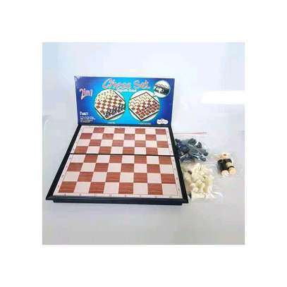 2 in 1 Chess & checker image 2