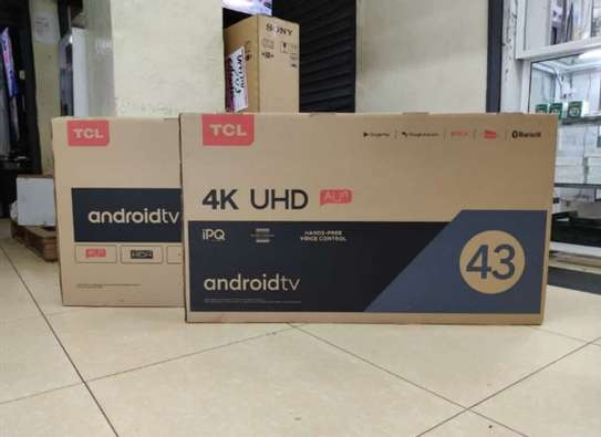 43 inch TCL  Smart  HD LED  android UHD 4K image 1