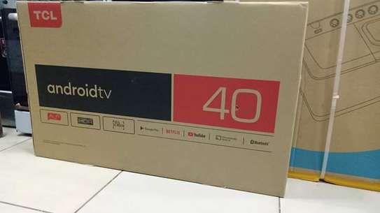 """40"""" tcl smart Android frameless HD TV image 1"""