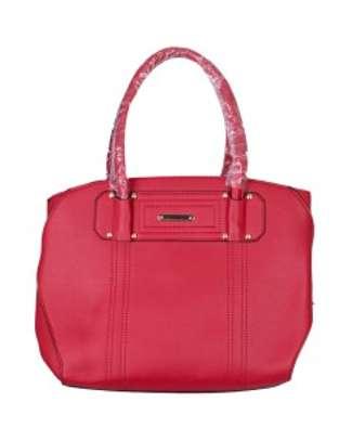 Stylish 3 piece Red Hand Bag image 2