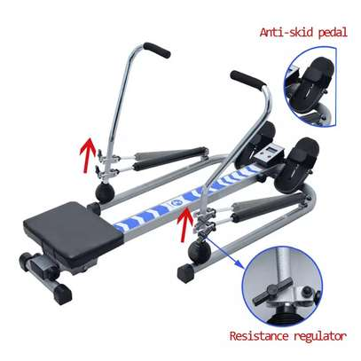 Mutifunctional Stamina Body Glider Rowing Machine indoor home exercise equipment fitness machines gym Rotating rowing machine image 2