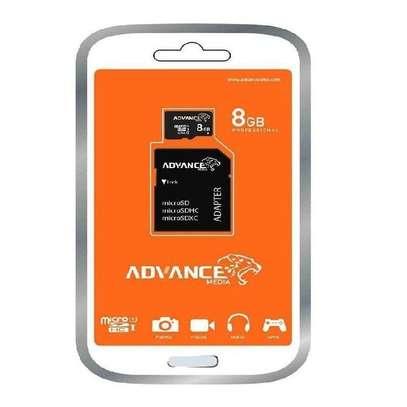 Advance 8GB - Memory Card + Adapter - Black image 2
