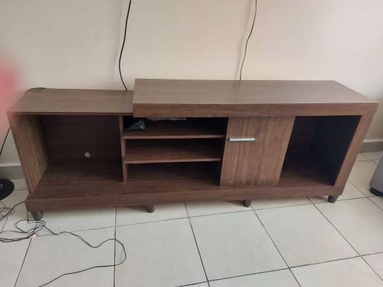 Tv stand - brown image 2