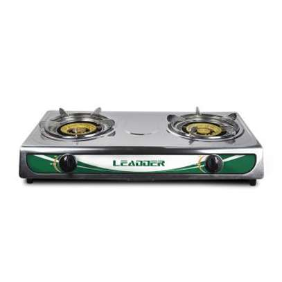 LEADDER Gas cooker Gs-S201 Two Burners Stainless 304 Low consumption Gas Stove Low Carbon Energy Saving