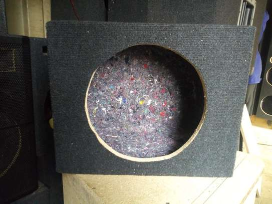 SPACE SAVING 12 INCH BASS SPEAKER CABINET image 2