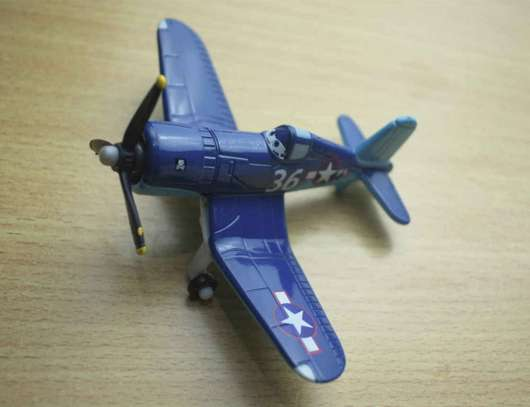 2 Pieces Metalic Kids Plane image 2