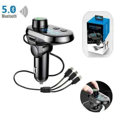 Car Mp3. Player modulator with Phone charger image 1