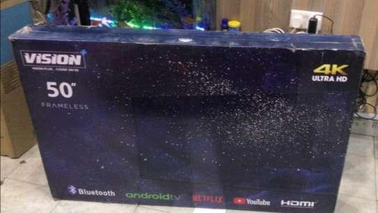 50 inch Vision smart UHD 4K Television - NetFlix image 1