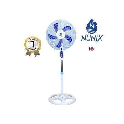 "Nunix Fan , Stand, 16"" - White & Blue image 2"