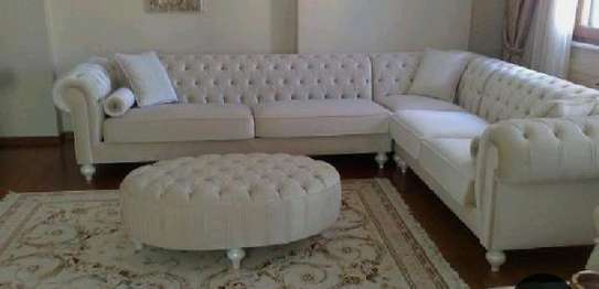sofas/tufted L shaped sofa image 1