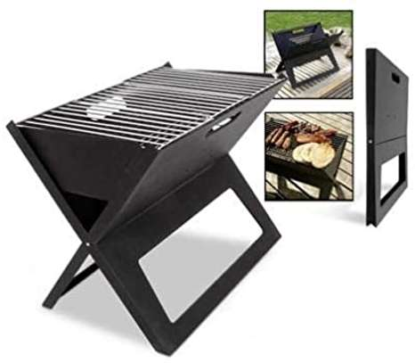 portable foldable charcoal grill image 3