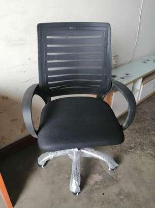Secretarial chair ➕ desk image 2