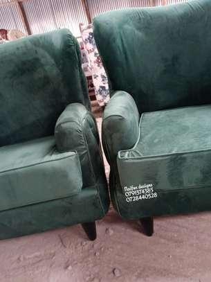 One seater sofas/sofas/modern single seater sofas/green sofas/ image 4