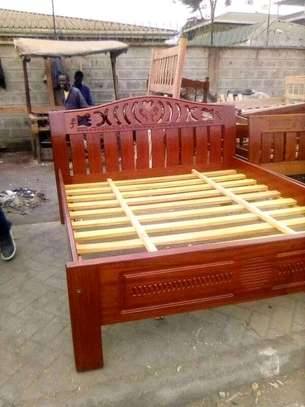 Ready Made Stylish Quality 5by6 Hardwood Bed