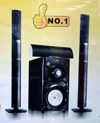 Tall boy Subwoofer,Hitech,wireless Bluetooth,USB Anabled,FM image 1