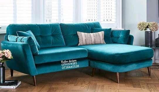 Four seater sofa L shaped sofa image 1
