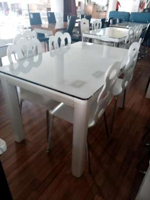 Classic 4 seater dining table image 1