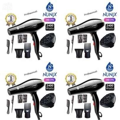 Nunix HD-77C Blow Dry Machine - 2400W - Black image 1