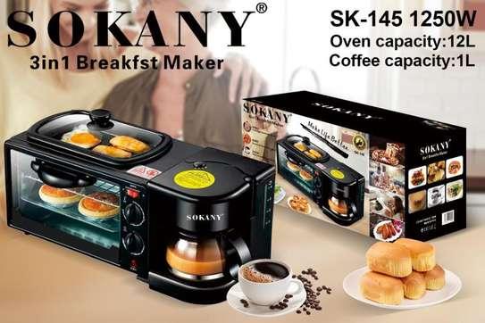 Electric 3, in 1 Breakfast maker image 1