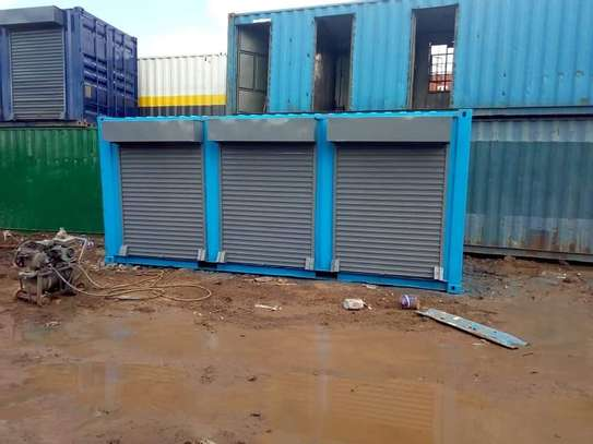20ft containers stalls image 5