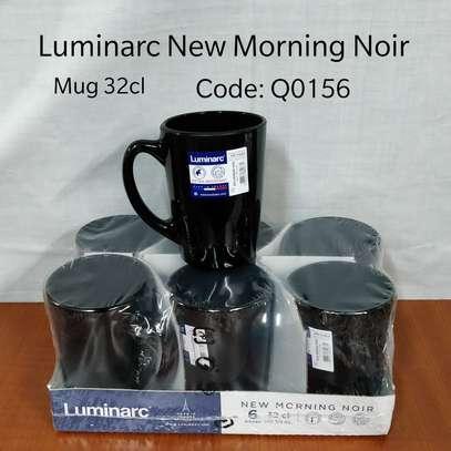 White& black Luminarc  cups image 2