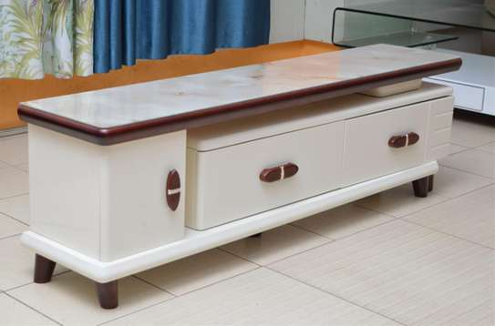 Pine Wood TV Stand image 1