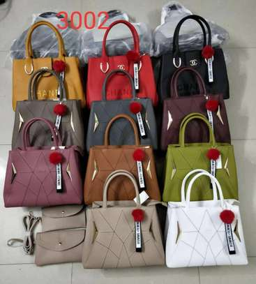 3 in 1 handbags different colors image 1