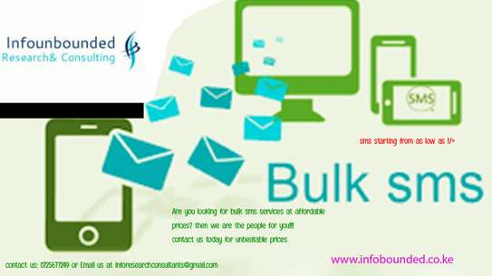 Data Collection , Bulk sms ,Market research