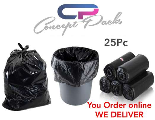 OFFER!!!! 25PCS*Waste Bags, Trash Bags, Refuse Bags, Garbage Bags,Biohazard Medical bags  ** Size 24 x 36 -25pcs @430 **Size 30 x 36 - 25pcs @ 550
